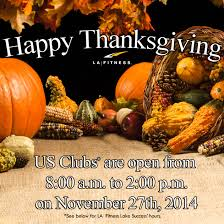 Kids Club La Fitness Thanksgiving Day Holiday Hours Usa For La Fitness And Kids