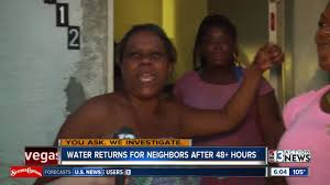 Running water returns for families after more than 48 hours
