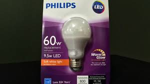 Typical Light Bulb Wattage Quick Review Philips 60 Watt Equivalent Soft White Led Light Bulb With Warm Glow Dimming