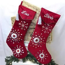 red velvet christmas stockings. Interesting Red Our  For Red Velvet Christmas Stockings