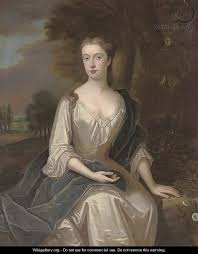 Portrait of a lady, traditionally identified as Mrs Chetham (1691-1749),  nee Mary Holt - (after) Maria Verelst - WikiGallery.org, the largest  gallery in the world