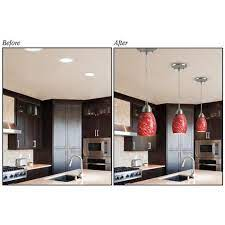 turn recessed light into a pendant