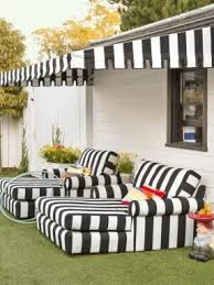 black patio furniture covers. look closelythe lawn is actually astourf landscaping hgtvmagazine black patio furniture covers