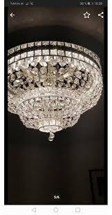 2 Kronleuchter Kristall Lampen