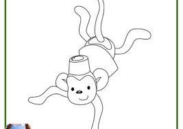 Monitos Tiernos Para Colorear 99 Dibujos De Monos Graciosos Monos Para Colorear Infantiles