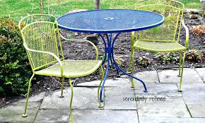 painting metal outdoor furniture paint metal patio furniture painted metal garden chairs