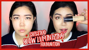 <b>Shiseido Synchro Skin Glow</b> Luminizing Foundation First Impression ...