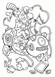 Small Picture coloring pages cat in the hat hat coloring page redcabworcester