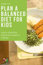Balanced Meal Chart Healthy Meal Plans For Kids Step By Step Jill Castle