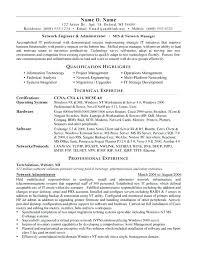 Admin Resume Example Network Administrator Resume Page 1 Executive