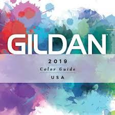 Gildan Color Chart 5000 Marketing Tools Usa Gildan Marketing Collateral Gildan