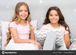 Soulmates Dívky Baví Interiér Ložnice Nejlepší Přátelé Navždy