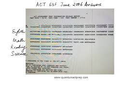 Act Math Practice Test With Answers - Worksheets for Kids ...Answers To Act 2006 June 63f Test