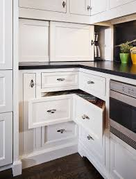 Furniture For Kitchen Storage 30 Corner Drawers And Storage Solutions For The Modern Kitchen