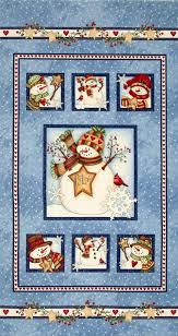 Just Believe Snowman Panel Blue | Quilt Panels | Pinterest ... & Just Believe Light Blue Snowmen Quilt Panel SKU# Adamdwight.com