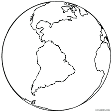 Earth Coloring Page Printable Earth Coloring Pages For Kids Earth