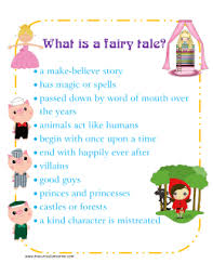 Elements Of A Fairy Tale The Elements Of A Fairy Tale Chart