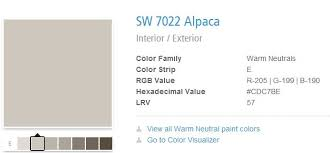 alpaca paint colorMy Top 10 Favorite Neutral Paint Colors  Campbell Powers Interiors