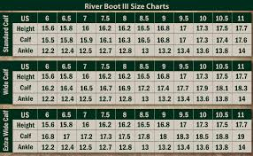Boot Wide Size Chart Dublin River Boots Iii Chocolate Ladies 8 Xwide