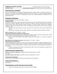 Nursing Resumes Template Custom Resume Format For General Nurses Sample Business Plan Document