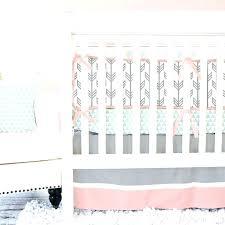 bright crib bedding sets baby girl bedding sets mint c arrow crib bedding baby girl bedding