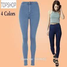 Designer High Waisted Skinny Jeans Uk Stock Brand New 2015 Women Designer High Waist Jeans