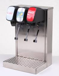 3 flavor tower remote soda fountain system