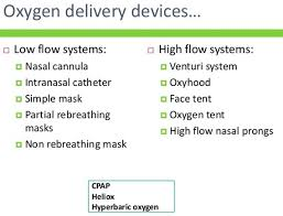 High Flow Nasal Cannula Fio2 Chart Oxygen Therapy Dr Rajiv Desai