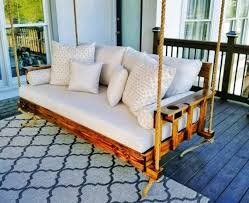 decorative porch swing family wooden