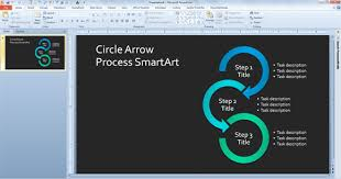 smartart powerpoint templates simple process diagram template in powerpoint using smartart