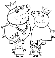 Beautiful peppa pig coloring page 22 with additional free coloring. Happy Peppa Pig Christmas Coloring Pages 2534 Peppa Pig Christmas Coloring Pages Coloringtone Book
