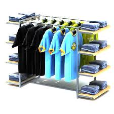 Apparel Display Stands Garments Display Rack Retail Display Racks Manufacturer from Delhi 87
