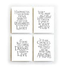 Dumbledore Dreams Quote Best Of Harry PotterAlbus Dumbledore Quotes Set Of Four Black And White