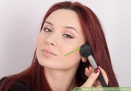 image led apply natural makeup for step 22