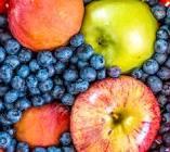 blueberry apples