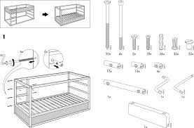 Instructions For Ikea Bunk Bed Assembly