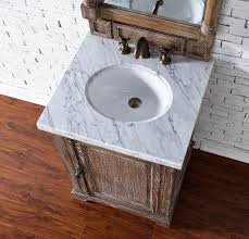 Driftwood Bathroom Vanity Abstron 26 Inch Driftwood Finish Single Sink Bathroom Vanity