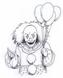Pennywise The Clown Coloring Pages Bing Images Coloring Pages