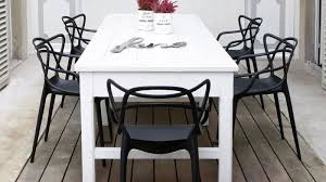 Four Outdoor Design Kartell Table For Outdoor In White Painted Kartell Outdoor Furniture