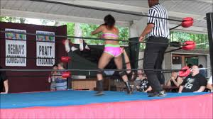Homemade teen wresting clips