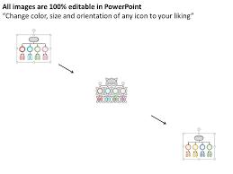 Web Organization Chart Organizational Chart For Web Design And Advertising Flat