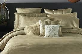 donna karan home moonscape bedding collection nip essentials urban oasis ivory full queen duvet silk cover
