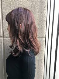 髪色を春仕様に変えたい人にオススメ甘過ぎないヘアカラーピンク