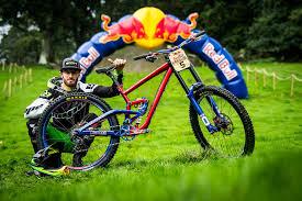 Adam Brayton and His Scott Gambler Worlds Bike - Red Bull Hardline 2018  Riders and Bikes - Mountain