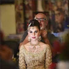bridal makeup by tariq amin rs80 000