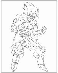 Fotocopie Da Colorare Nuovo Dragon Ball Super Disegni Da Colorare