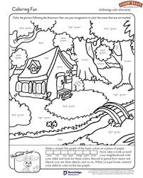 color worksheets for kids. Beautiful For Coloring Fun  Free Worksheet For Kindergarten To Color Worksheets For Kids