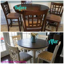 gallery of chalk paint kitchen table trends for furniture look picture dining room