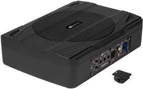 ESX Q201 A 20 cm Active Under Seat Subwoofer: Amazon.de: MP3 & Hifi