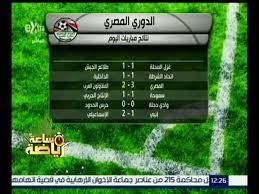 ساعة رياضة | نتائج مباريات اليوم ضمن مباريات الدوري المصري - video  Dailymotion